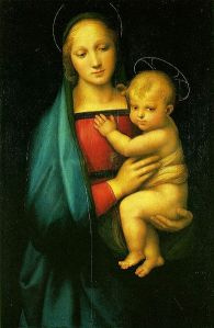 Mary and Jesus (Raphael's Madonna dell Granduca)