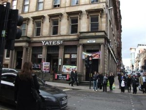 Yates Wine Lodge, West George St, Glasgow