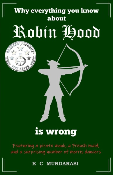 Robin Hood cover Readers Favourite badge